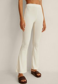 NA-KD - Trousers - offwhite - 0