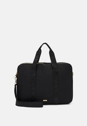 LOGO BAND - Taška na laptop - black