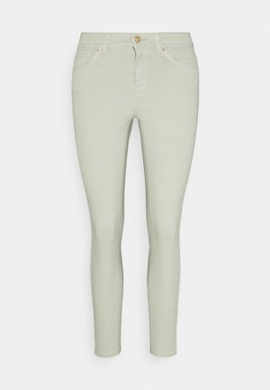 ONLWAUW LIFE MID COLOUR - Jeans Skinny Fit - desert sage