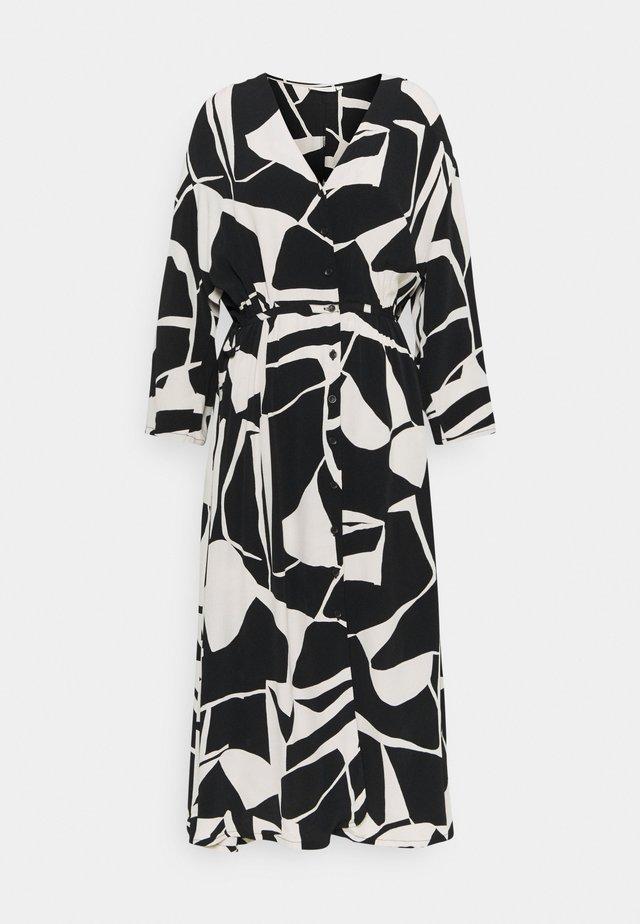 NINI - Korte jurk - black