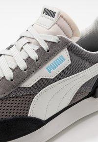 Puma - RIDER - Sneakers - black/castlerock - 5