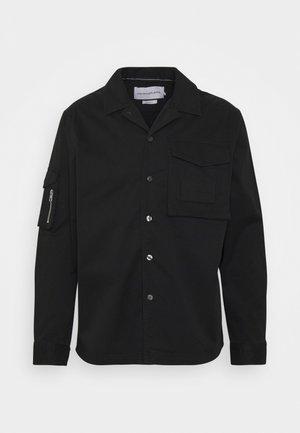 UTILITY OVERSHIRT - Camicia - black