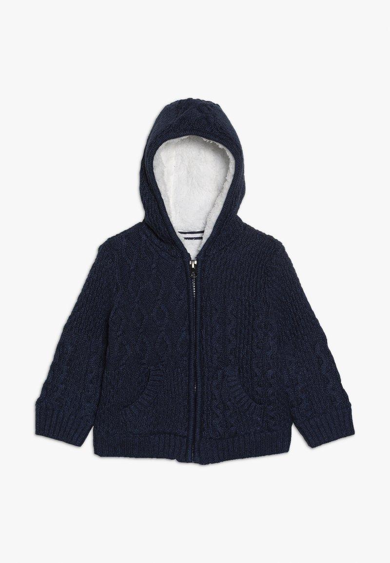 mothercare - BABY HOODY - Cardigan - navy