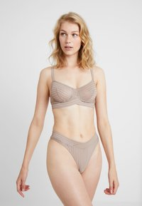 else - ZIGGY THONG - Tanga - warm taupe - 1