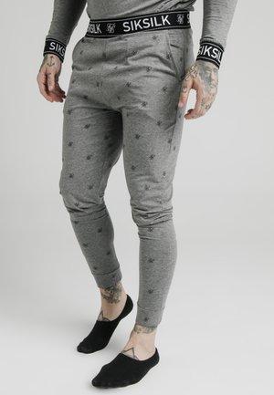 LOUNGE PANTS - Pyjama bottoms - grey marl