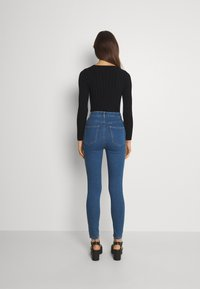 Cotton On - ULTRA HIGH SUPER STRETCH - Jeans Skinny Fit - coogee blue - 2