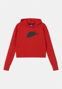Nike Sportswear - AIR CROP HOODIE  - Sweat à capuche - university red/black - 0
