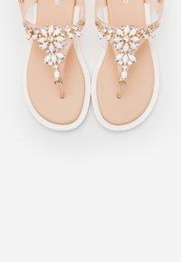 Gioseppo - BANGALORE - T-bar sandals - nude - 5