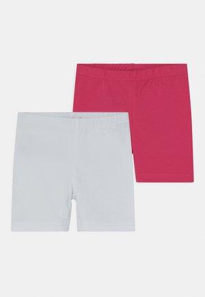 SMALL GIRLS BIKE 2 PACK - Kraťasy - white/pink