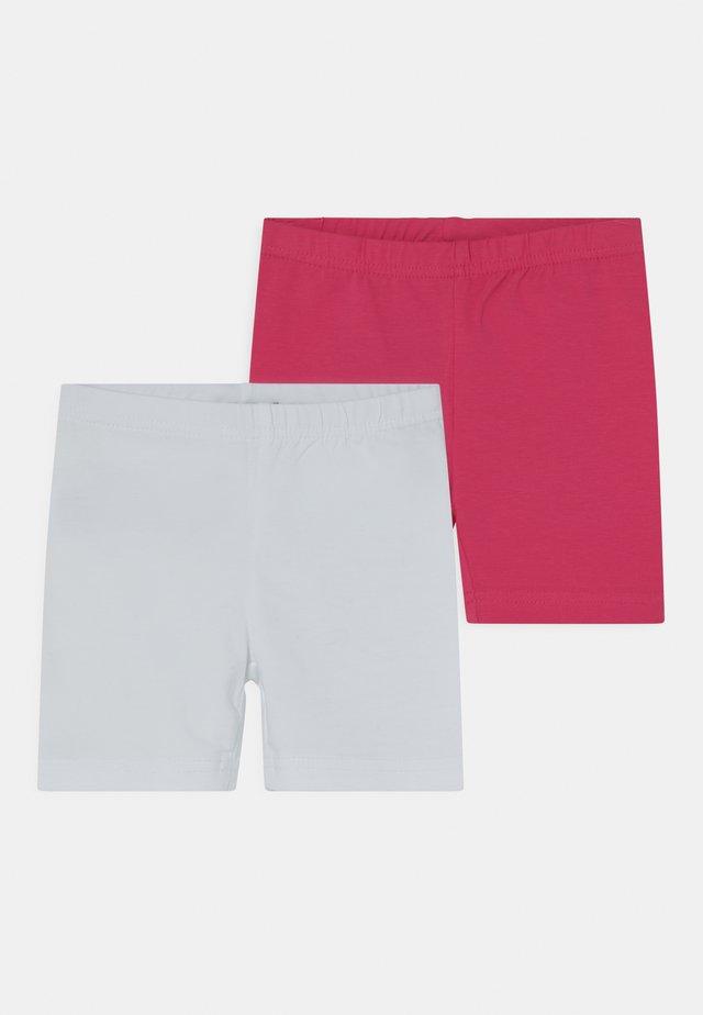 SMALL GIRLS BIKE 2 PACK - Shortsit - white/pink
