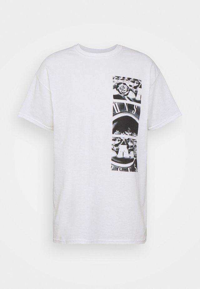 GUNS N ROSES GRAPHIC TEE - T-shirt z nadrukiem - white
