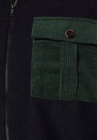 Anerkjendt - AKMILAN OVERSHIRT - Zip-up hoodie - captain - 2