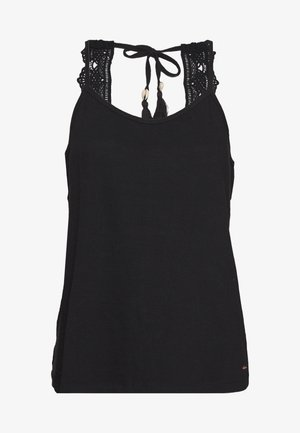 AVA BEACH TANKTOP - Strandaccessoire - black out
