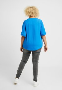 CAPSULE by Simply Be - LADDER INSERT TUNIC - Bluser - cobalt blue - 3