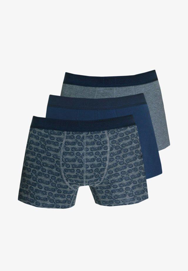 3PACK - Pants - navy/anthrazit