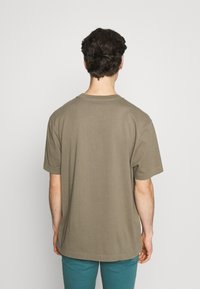 AllSaints - MUSICA CREW - Basic T-shirt - willow taupe - 2