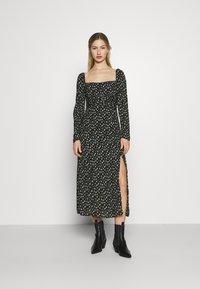 Fashion Union - TITAN DRESS - Day dress - black - 0