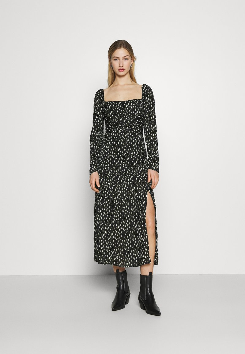 Fashion Union - TITAN DRESS - Day dress - black
