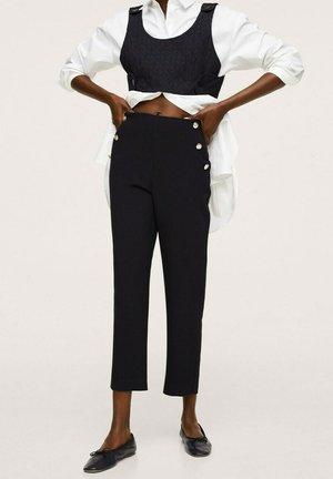 BOTONES - Trousers - black