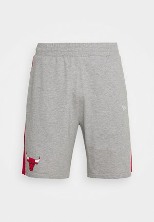 CHICAGO BULLS SIDE PANEL - Sports shorts - grey