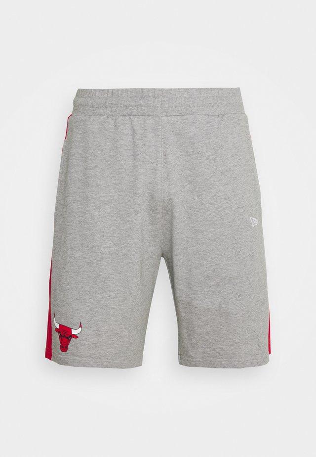 CHICAGO BULLS SIDE PANEL - Pantaloncini sportivi - grey