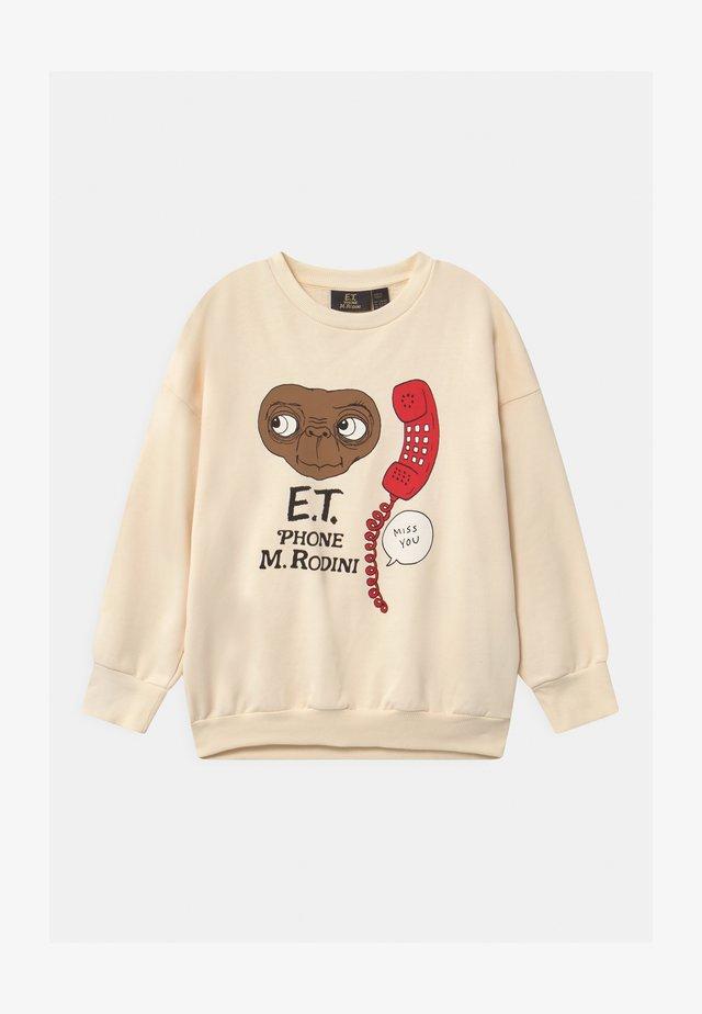 E.T. UNISEX - Sweatshirt - off-white