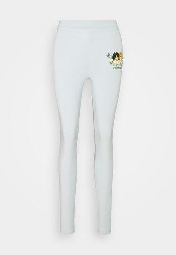 WOODLAND ANGELS - Leggings - Trousers - pale blue