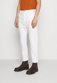 Edwin - UNIVERSE PANT CROPPED - Jeans Tapered Fit - white selvage denim - 0