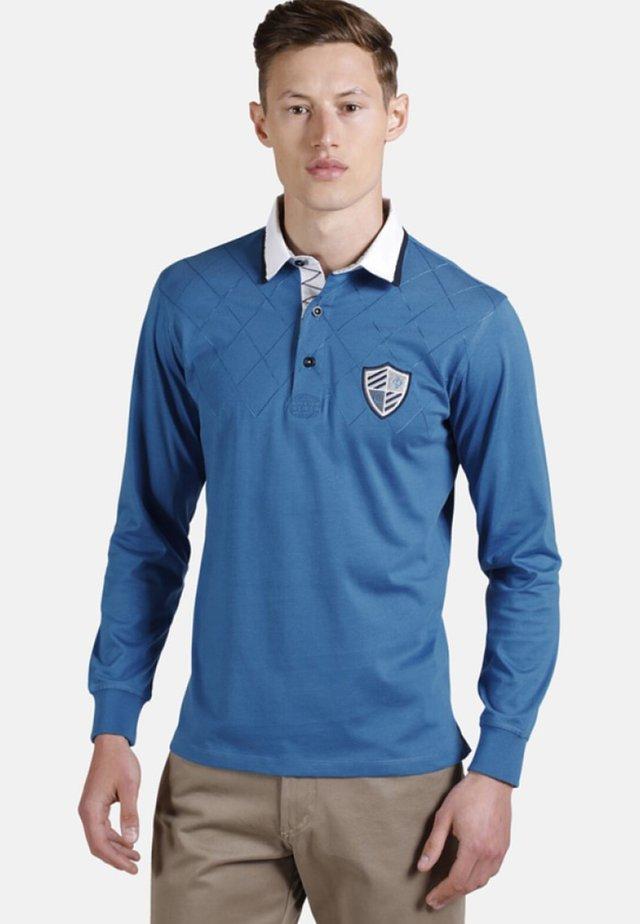 DUKE CALLANHAN - Polo shirt - blue