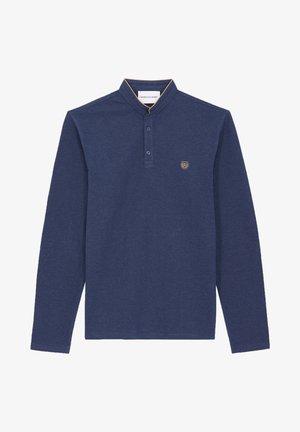 Polo shirt - night blue mel/tabacco