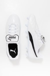 Puma - KING TOP FG - Moulded stud football boots - white - 1