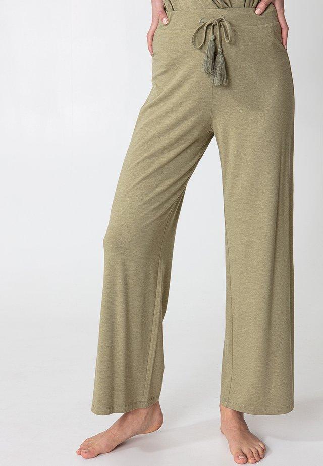 Spodnie od piżamy - green