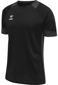 Hummel - LEAD - Print T-shirt - black - 1