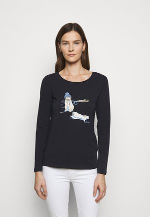 FAIRSFIELD TEE - Long sleeved top - navy