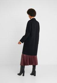 Strenesse - DOUBLE FACE COAT - Classic coat - black - 2