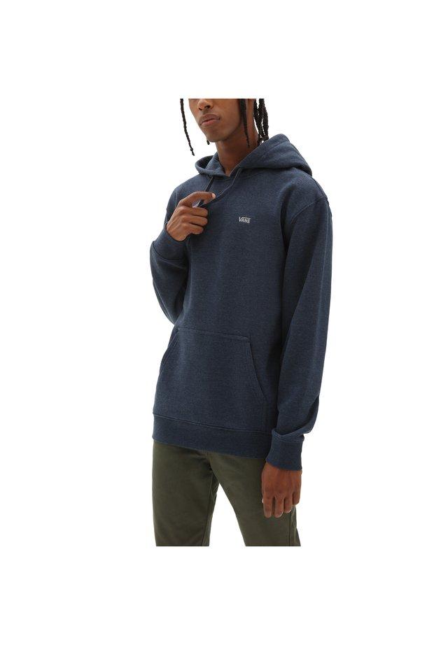 BASIC - Jersey con capucha - dress blues heather