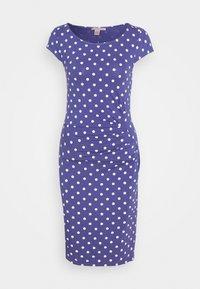 Anna Field - Vestido de tubo - white/blue - 4