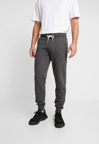 Pier One - Trainingsbroek - mottled dark grey - 0