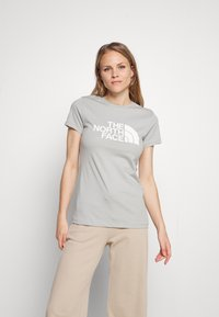 The North Face - EASY TEE - Print T-shirt - wrought iron - 0