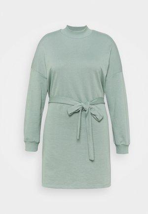 NMALIAH DRESS - Korte jurk - slate gray