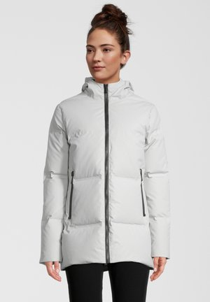 RIGA - Gewatteerde jas - gris mastic