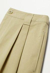 Mango - MINT - Trousers - sand - 7