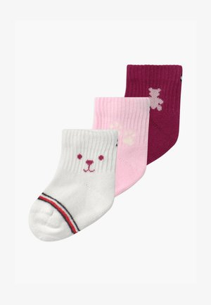 BABY NEWBORN GIFTBOX 3 PACK - Socks - pink