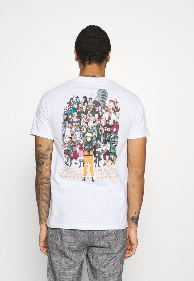 SHIPPUDEN TEE - T-shirts print - white