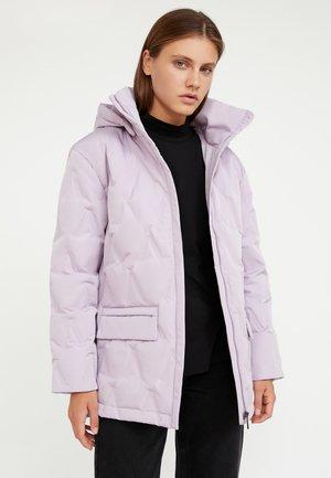 Down coat - lilac