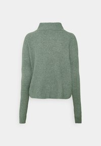 Noisy May - NMNEWALICE HIGH NECK - Jumper - trooper - 1