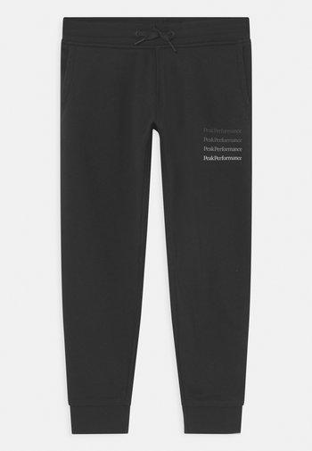 GROUND UNISEX - Pantalones deportivos - black