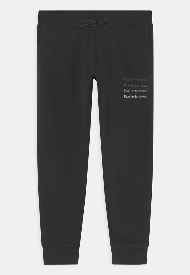 GROUND UNISEX - Tracksuit bottoms - black