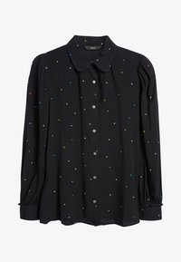 Next - Button-down blouse - black - 1