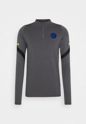 INTER MAILAND DRY - Club wear - dark grey/black/tour yellow
